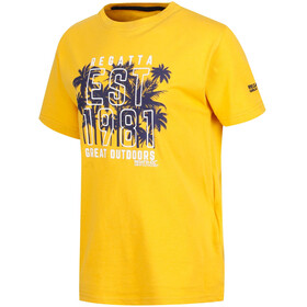 Regatta Bosley II Shortsleeve Shirt Children yellow